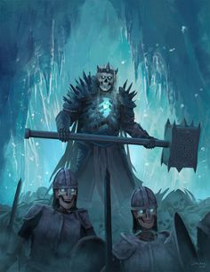 ArtStation - Oath of the Frozen King Book Cover, Jon Pintar