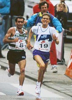 Domingos Castro viert bij 37ste Marathon Rotterdam met familie en vrienden het jubileum van zijn bijzondere zege in 1997