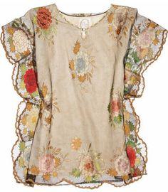 ShopStyle: One Vintage Jadien tunic