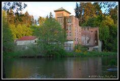 Original Olympia Beer brewery Washington state