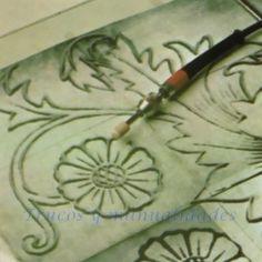 Técnica grabado en cristal 3 Dremel, Glass Tray, Clock, Carving, Make It Yourself, Youtube, Mini, Google, Glass