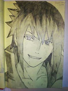 His very happy Kakashi Drawing, Naruto Drawings, Anime Drawings Sketches, Manga Drawing, Cute Drawings, Kid Kakashi, Naruto Shuppuden, Naruto Shippuden Sasuke, Boruto