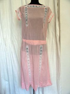 1920's cotton day dress
