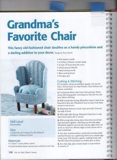 GRANDMA'S FAVORITE CHAIR 1