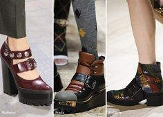 Fall/ Winter 2016-2017 Shoe Trends: Shoes & Boots With Big Buckles