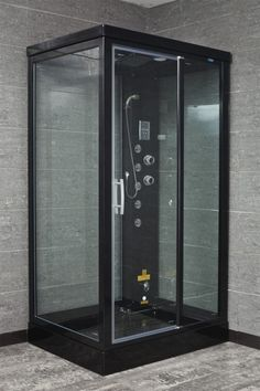 Ariel SS-902A steam shower includes a shower enclosure, computerized LCD, storage shelves, fluorescent overhead lighting, digital timer and steam sauna generator. All our steam showers come with free shipping