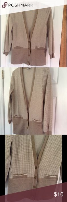 Small Square Checkered Cardigan Perfect for the country club! Sweaters Cardigans