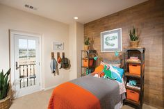 Bedroom at Parkview in South County San Diego | New Homes for Sale | Parkview