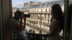 Bakstage shooting - Collection Jardin à la Française