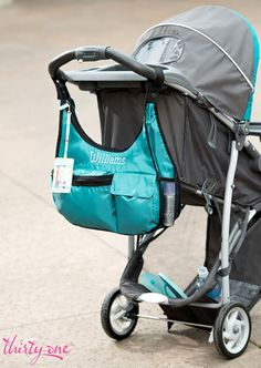 Remove the strap from the Exporista Crossbody to use with your stroller, grocery cart or walker! www.mythirtyone.com/madisonbell