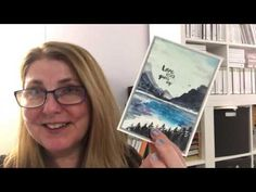 How to watercolour with the Waterfront stamp set from Stampin'Up! - YouTube
