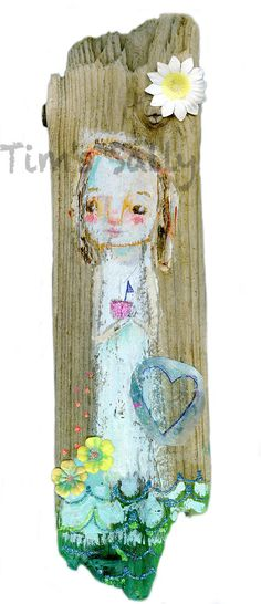 Sea Angel original painting by Mindy Lacefield by timssally