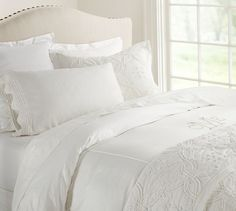 PB Essential Duvet Cover & Sham | Pottery Barn