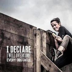 Its got to be done! tough mudder!