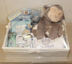 Cesta de bienvenida para recién nacido