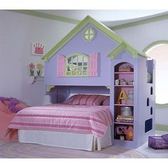 My daughter would love this bed! But who knows for how much longer, since she is getting so big!
