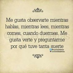 Es pq me gustas mucho. Love Phrases, Love Words, Frases Love, Love Is Everything, Love You, My Love, Love Messages, More Than Words, Spanish Quotes