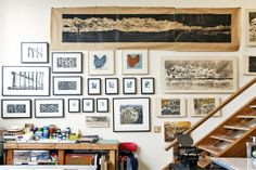 Sirima's Vintage Industrial Artist's Loft House Tour | Apartment Therapy
