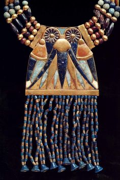 Ancient Egypt Jewelry, part of necklace