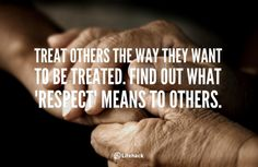 The Platinum Rule: Treat others the way they want to be treated   Chakravarthy's Blog