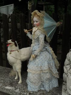 ~~~ Gorgeous French Elegant Bisque Poupee ~~~ from whendreamscometrue on Ruby Lane
