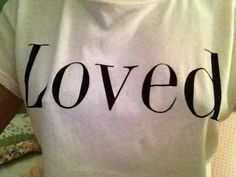 "Sunset Cottage Michigan, Comfortable tee-shirt ""Loved"""