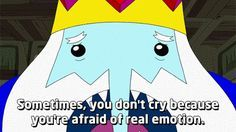 "When the Ice King called Jake (and literally everyone) out. | 19 Times ""Adventure Time"" Really Wanted To Make You Cry"