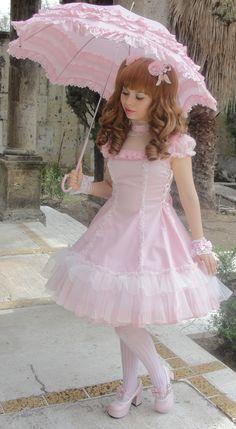 sweet lolita in pink