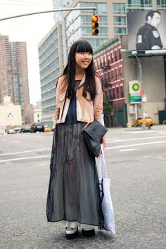 Susie Lau (Bubble) in NYC