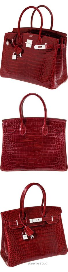 Billionaire Club / karen cox. The Glamorous Life. Hermes Crocodile Birkin with White Gold & Diamond Hardware - Sale! Up to 75% OFF! Shop at Stylizio for women's and men's designer handbags, luxury sunglasses, watches, jewelry, purses, wallets, clothes, underwear & more! #designerhandbags