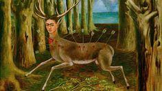 """Frida Kahlo, """"The Wounded Deer"""", 1946."""