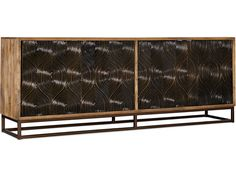 Hooker Furniture Home Entertainment Swirl Door Entertainment Console 6344-55486-89 Entertainment Center Furniture, Home Entertainment, Hooker Furniture, Natural Wood Finish, Quality Furniture, Wood Veneer, Furniture Collection, Design Elements, Console