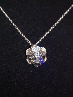 * * * Halskette mit Straßkugel-Anhänger * * * Kugel, Diamond, Ebay, Jewelry, Fashion, Fashion Jewelry, Watches, Moda, Jewlery