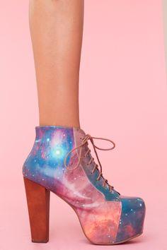 Lita Platform Boot - Cosmic