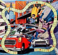 Batman and Robin game 1965