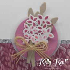 Thoughtful Branches Posy. Team Swap Card. Kelly Kent - mypapercraftjourney.com. Easel Cards, Stampin Up, Projects To Try, About Me Blog, Paper Crafts, Branches, Thoughts, Image, Tissue Paper Crafts