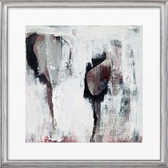 Complete your gallery wall or add a stylish touch to the den with this abstract giclee print from Artfully Walls.   Product: Fra...