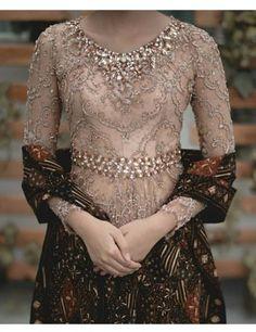18 Ideas for embroidery designs fashion modern Kebaya Modern Hijab, Dress Brokat Modern, Model Kebaya Modern, Kebaya Hijab, Kebaya Muslim, Kebaya Lace, Kebaya Dress, Batik Kebaya, Batik Dress
