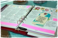 Use tags in your personal planner.  For more on journaling visit www.journaling4faith.com.