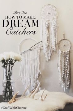 make your own dream catchers!