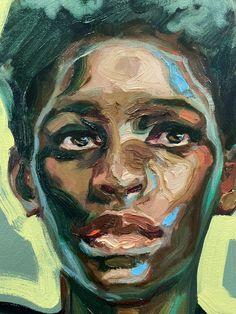 Abstract Portrait Painting, Portrait Acrylic, Figure Painting, Portrait Art, Painting & Drawing, Expressive Art, Maquillage Halloween, Portraits, Art Portfolio
