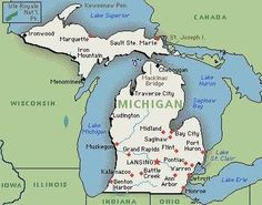 For all my fellow Michiganders!!!  THIS IS MICHIGAN ... (see attachment)  Detroit is known as the car capital of the world.  Alpena is the home of the world's largest cement plant.  Rogers City boasts the world's largest limestone quarry.  Elsie is the home of the world's largest registered Holstein dairy herd.  Michigan is first in the United States production of peat and magnesium compounds and second in gypsum and iron ore..  Colon is home to the world's largest manufacturer of magic…