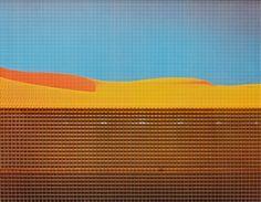 Die Plateaus (Station 7 der Sahara-Edition) by Heinz Mack