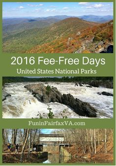2016 Entrance Fee-Free Days offer more days when fees are waived and special events to celebrate the 100th anniversary of the U.S. National Park Service.