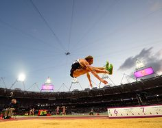 Flying athletes | Christopher Tomlinson of Great Britain competes in the Men's Long Jump... | Sympatico.ca Sports : London2012 : Photos