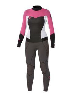 wetsuit new NWT boy girl 6 14 Quiksilver Syncro GBS 3//2 Fullsuit youth  2