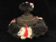 Mongolian plainsman's yak fur hat. Mid 20th century Mongolia, Textiles, Fur, Boho, Christmas Ornaments, Holiday Decor, Hats, Jewelry, Jewlery