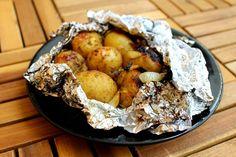 Ziemniaki pieczone na grillu
