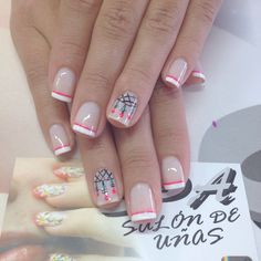 Uñas Manicure And Pedicure, Gel Nails, Gel Nail Designs, Elsa, Nail Art, Candy, Beauty, Beautiful, Gorgeous Nails