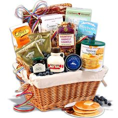 New England Breakfast Gift Basket Deluxe - 21 Creative DIY Valentine Day Gifts For Him